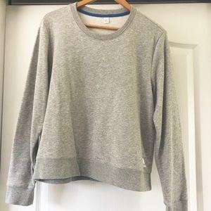 Adidas grey marled sweatshirt